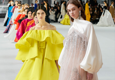 Gowns -- The Comprehensive Analysis of Womenswear Catwalks