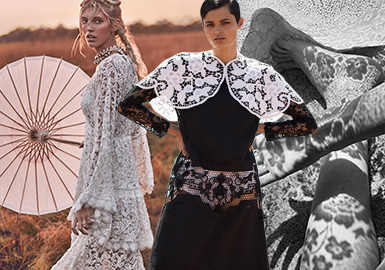 Nostalgic and Luxurious -- The Lace Fabric Trend for Womenswear