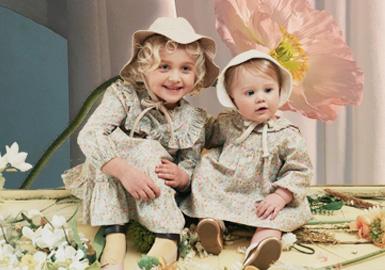 Tranquil Garden -- Theme Design & Development for Kidswear