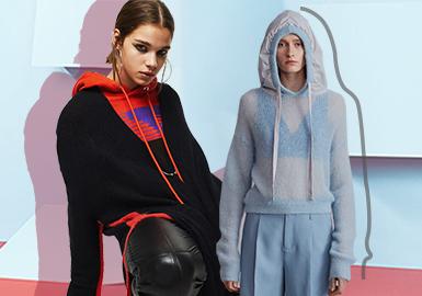 Avant-garde New Fashion -- The Silhouette Trend for Women's Knitwear Sweatshirts