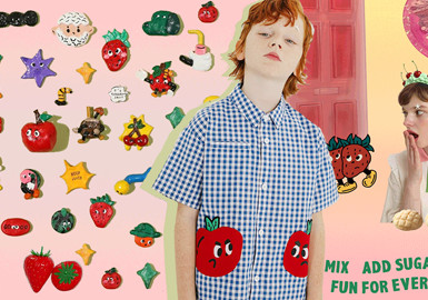 Fun Fruits -- The Pattern Craft Trend for Kidswear
