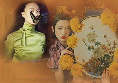 Talk About The Orient -- The Thematic Fabric Trend for Womenswear