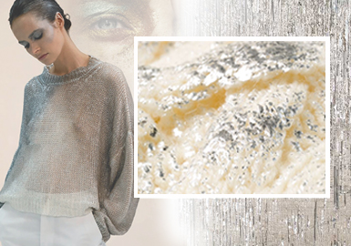 Gilding -- The Craft Trend for Women's Knitwear