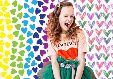 Sweet Heart -- The Pattern Trend for Girls' Wear