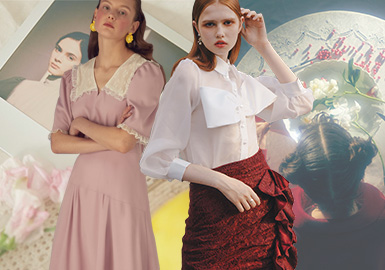 Necessary Elements for Girls -- The Craft Detail Trend for Womenswear
