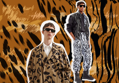 Animal Prints -- The Pattern Trend for Menswear