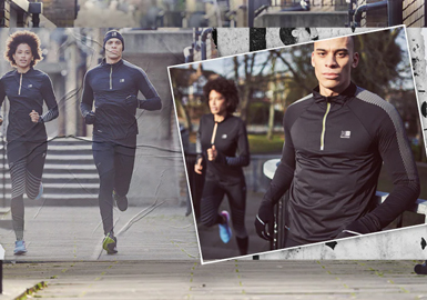 Running -- The Design Capsule of Men's and Women's Running Wear