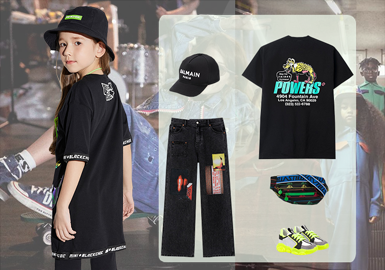Slight Fashion -- Clothing Collocation of Kidswear
