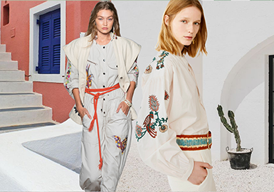 Rock Khaki -- The Thematic Color Trend for Womenswear