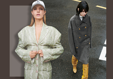 Leisure Style -- The Silhouette Trend for Women's Overcoats