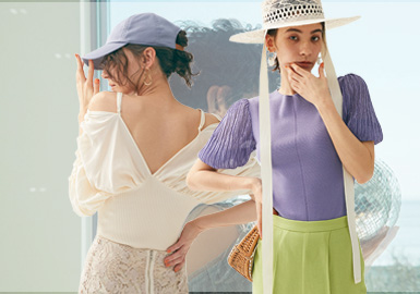 A Daydream in Early Summer -- Snidel The Womenswear Benchmark Brand