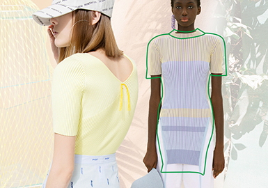 Elegant Everyday Wear -- The Silhouette Trend for Women's Knitwear T-shirts