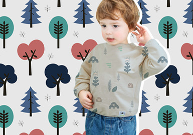 Nordic Forests -- The Pattern trend for Infants' Wear