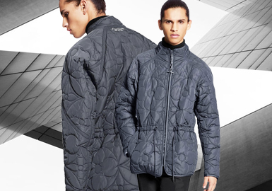 City Dwellers -- The Silhouette Trend for Men's Puffa Jackets