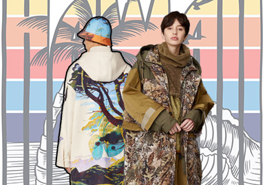 Beautiful Scenery -- The Pattern Trend for Men's and Women's Parkas