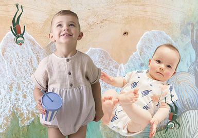 Amazing Sea World -- Theme Design & Development for Infants' Wear