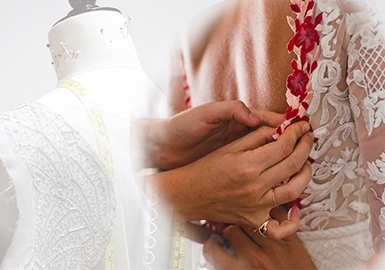 Embroidery -- The Craft Trend for Embroidery on Wedding Dress