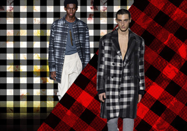 New Checks -- The Pattern Trend for Menswear