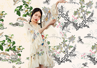 Chinese Style -- The Pattern Trend for Womenswear