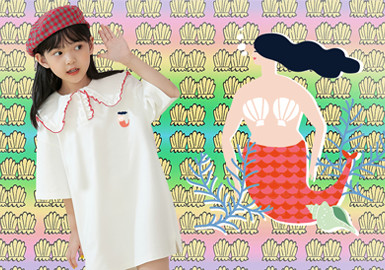 The Song of The Mermaid -- The Pattern Trend for Girls' Wear