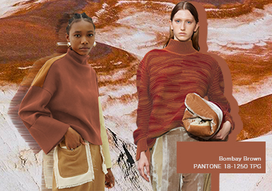 Bombay Brown -- The Color Trend for Women's Knitwear