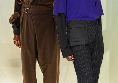 Subtle Details -- The Craft Detail Trend for Men's Trousers