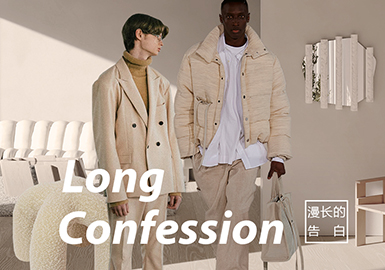Long Confession -- A/W 21/22 Theme Fabric Trend for Menswear