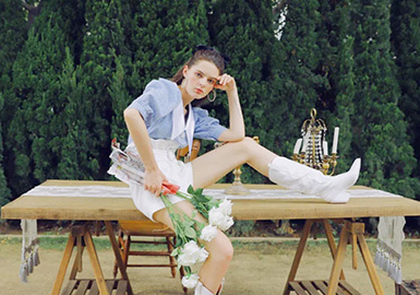 Monet Garden -- Ann teano The Womenswear Designer Brand