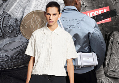 3D Effect -- The Pattern Craft Trend for Menswear