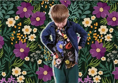 The Night Garden -- The Pattern Trend for Kidswear