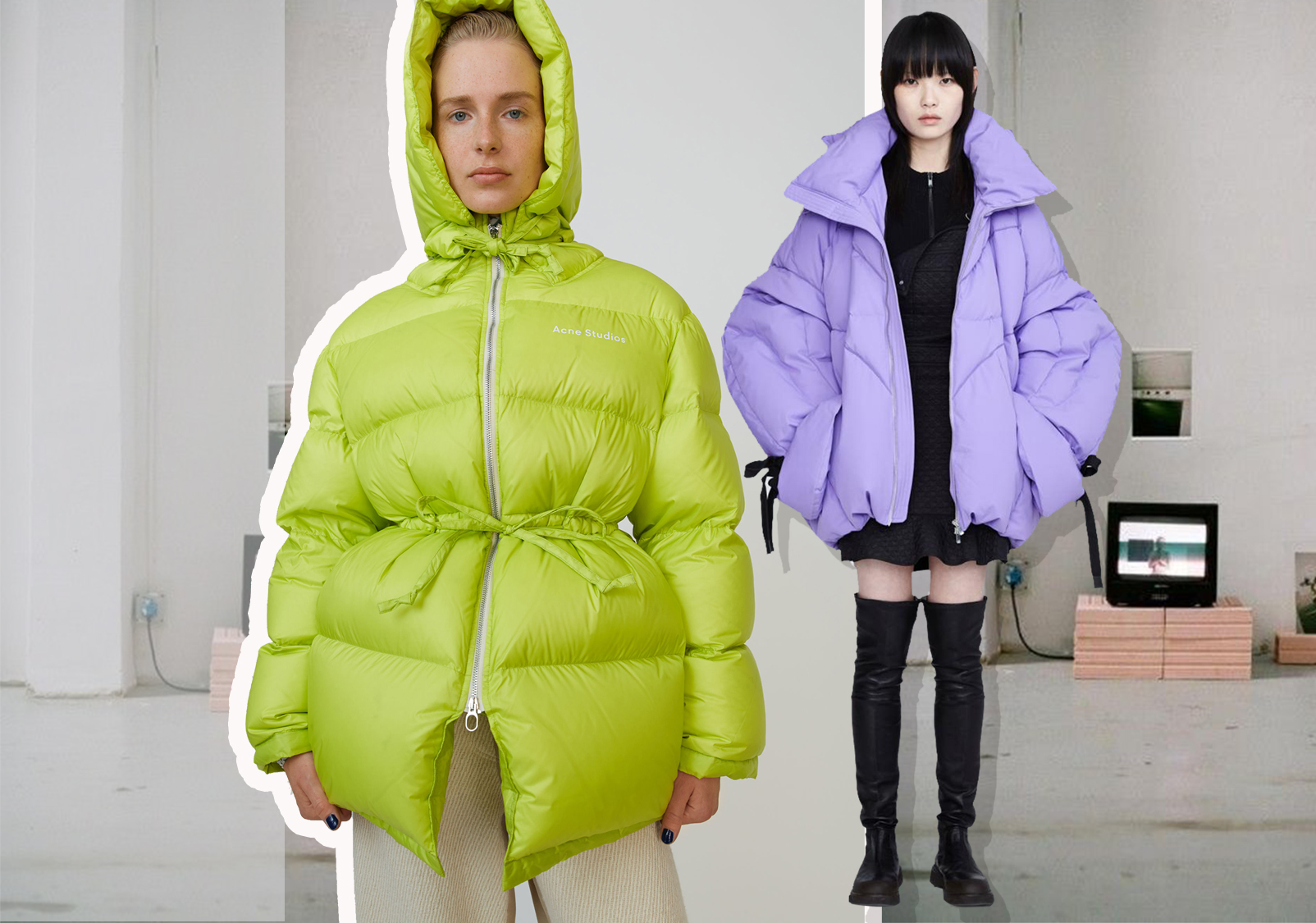 Fashionable and Cool -- The Silhouette Trend for Women's Puffa Jackets