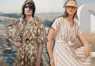 Relaxing Holiday -- The Comprehensive Analysis of Womenswear Fast Fashion Benchmark Brands
