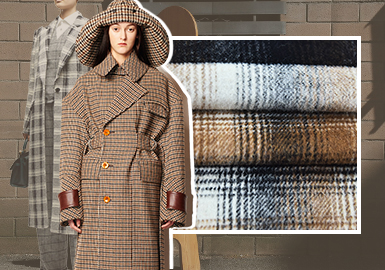Retro Warm Checks -- The Trend for Womenswear Checked Wool