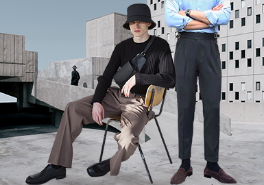 A New Business Era -- The Silhouette Trend for Men's Trousers