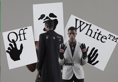 Simplified Street Fashion -- The Catwalk Analysis of Off-White Menswear