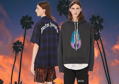 Old and New America Western Cultures -- Palm Angel The Menswear Designer Brand