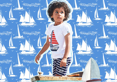 Nautical Theme -- The Pattern Trend for Kidswear
