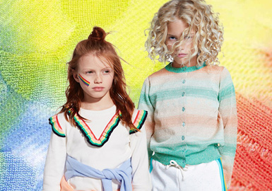 Rule of Warmth -- The Color Trend for Kids' Knitwear