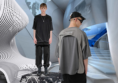 Rune Arts -- The Silhouette Trend for Men's T-shirts