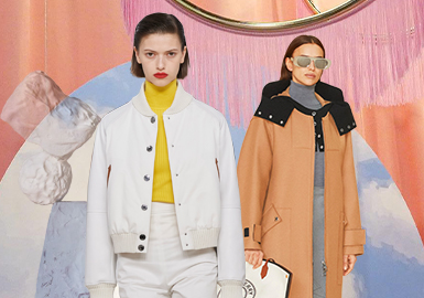 Urban Relaxed Sport -- The Silhouette Trend for Women's Leather and Fur Clothing