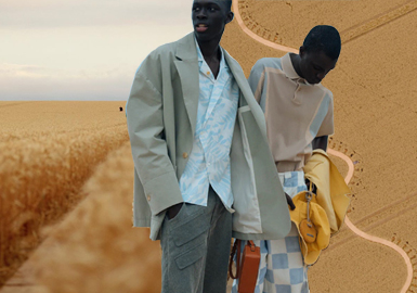 Walking in the Wheat Field -- The Catwalk Analysis of Jacquemus Menswear
