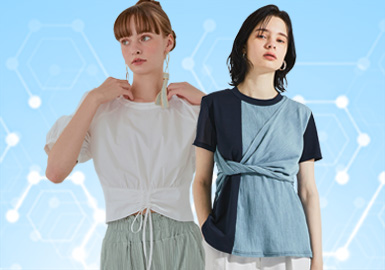 T-shirts -- The TOP List of Womenswear