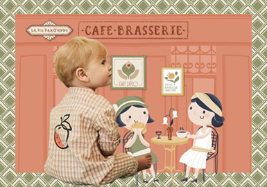 Elegant Afternoon Tea -- Theme Design & Development for Infants' Wear