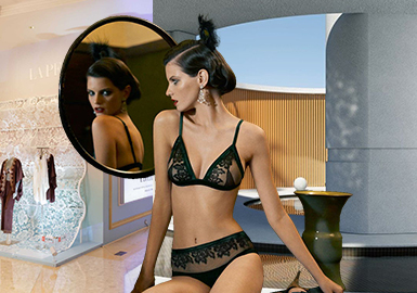 Ingenuity -- La Perla The Benchmark Brand of Women's Underwear