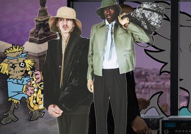 Everyday luxury -- The Analysis of Louis Vuitton Menswear