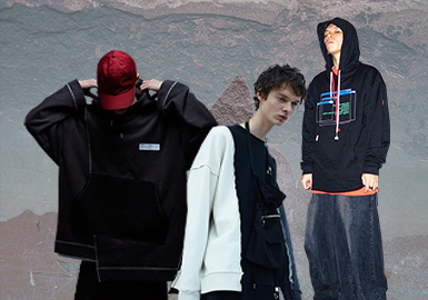 New Trends -- The Silhouette Trend for Men's Sweatshirts