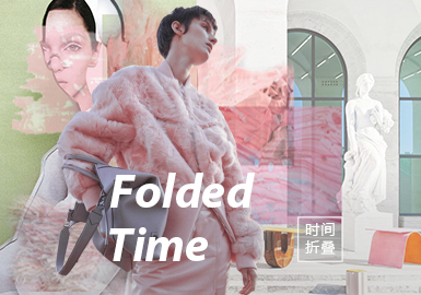 Folded Time -- A/W 21/22 Theme Fabric Trend for Womenswear