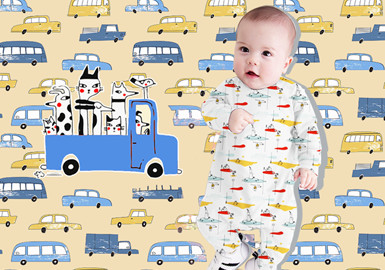 Vehicles -- The Pattern Trend for Infants' Wear