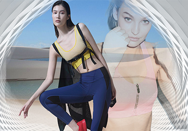 The Flowing Aesthetics -- The Silhouette Trend for Sports Underwear
