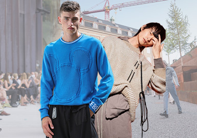 Integration -- The Comprehensive Analysis of Men's Knitwear on Catwalks